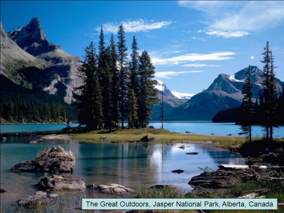 The Great Outdoors, Jasper National Park, Alberta, Canada