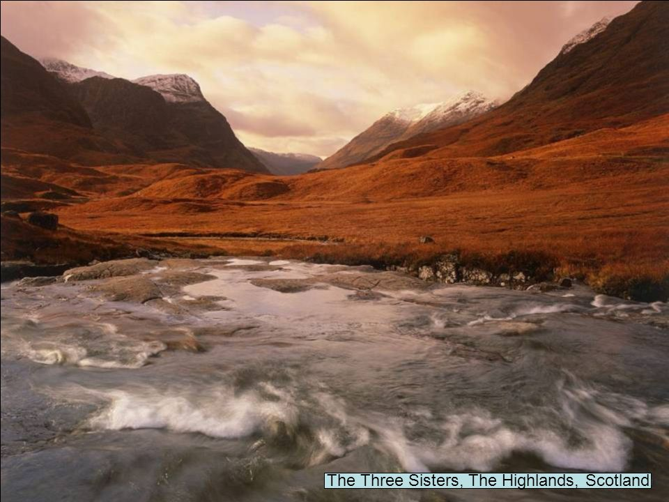 The Three Sisters, The Highlands, Scotland
