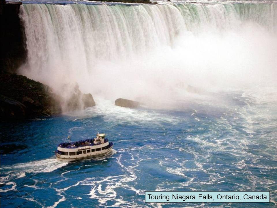 Touring Niagara Falls, Ontario, Canada