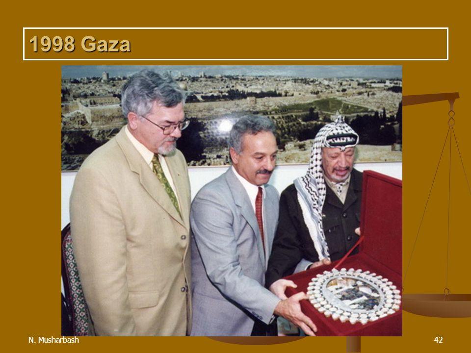 1998 Gaza N. Musharbash