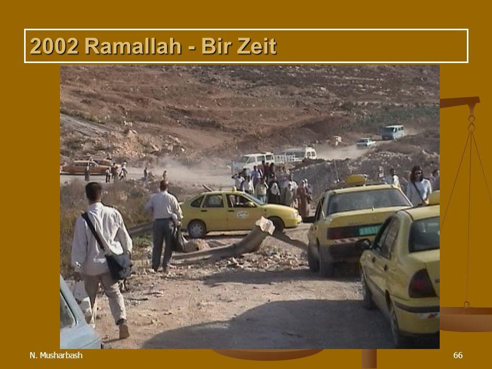 2002 Ramallah - Bir Zeit N. Musharbash