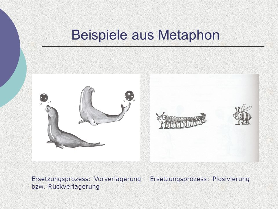 Beispiele aus Metaphon