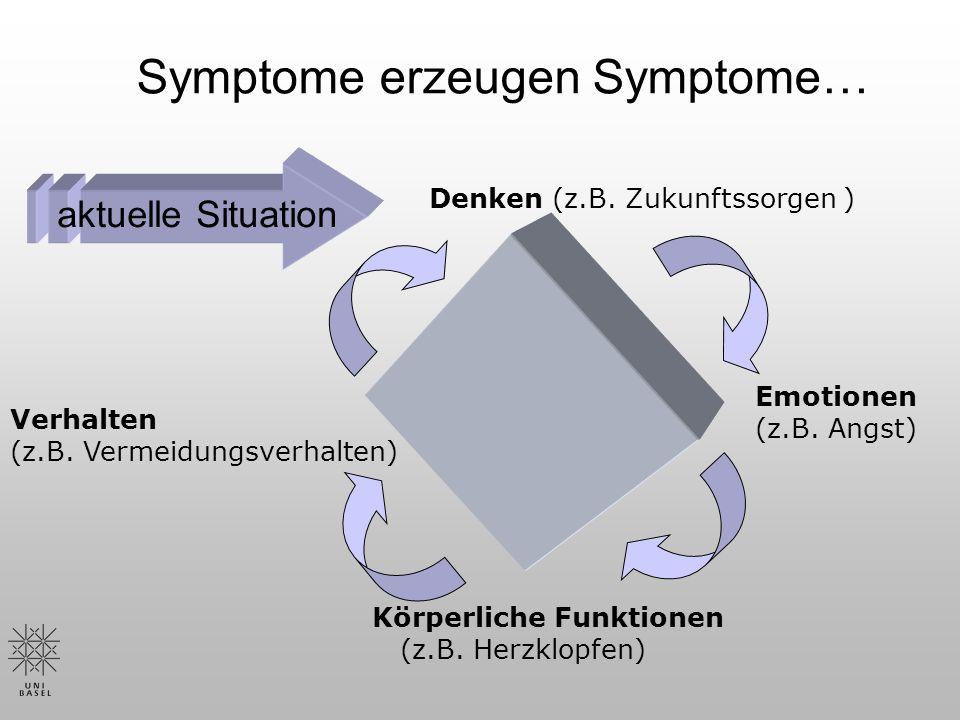 Symptome erzeugen Symptome…