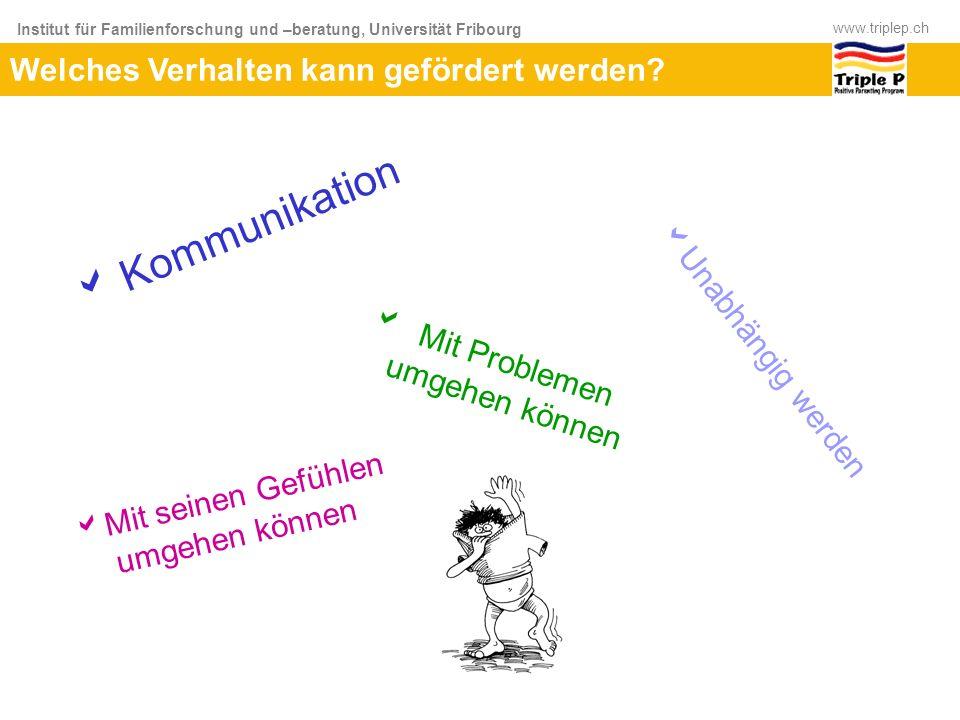 Kommunikation Welches Verhalten kann gefördert werden