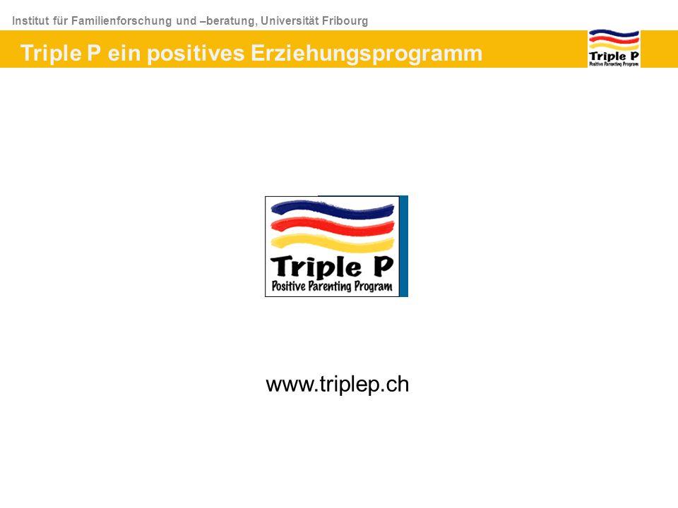 Triple P ein positives Erziehungsprogramm