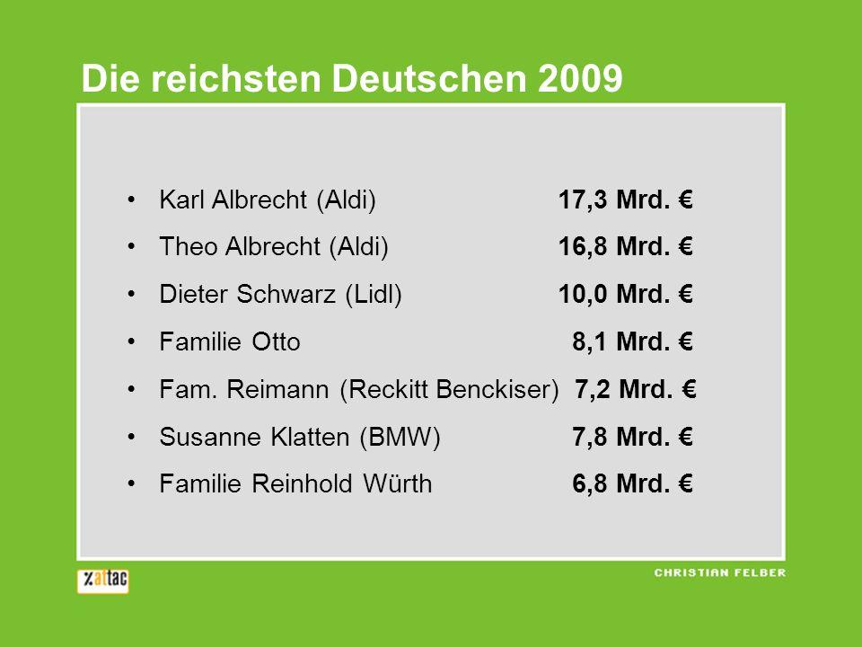 Die reichsten Deutschen 2009