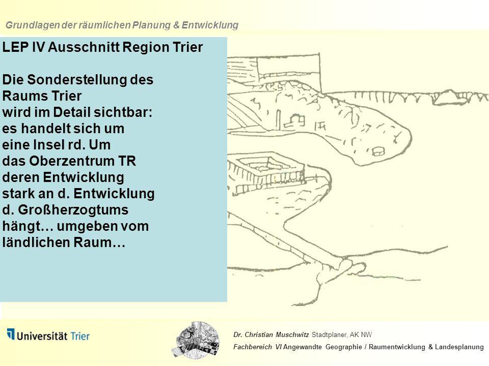 LEP IV Ausschnitt Region Trier