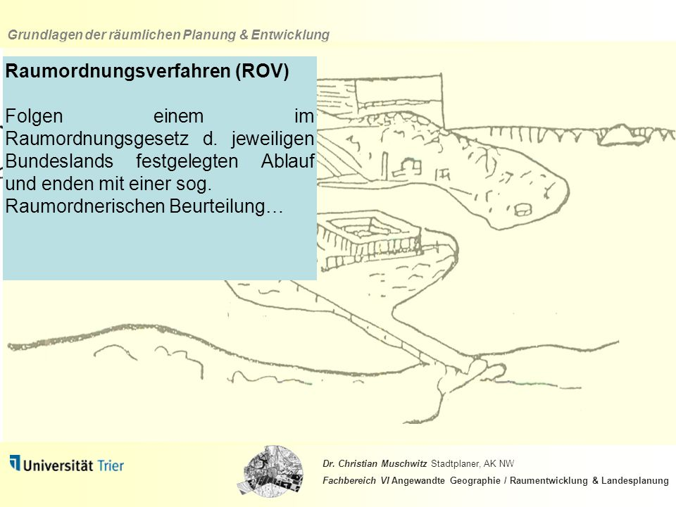 Raumordnungsverfahren (ROV)