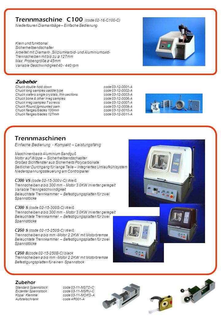 Trennmaschine C100 (code 02-16-C100-C)