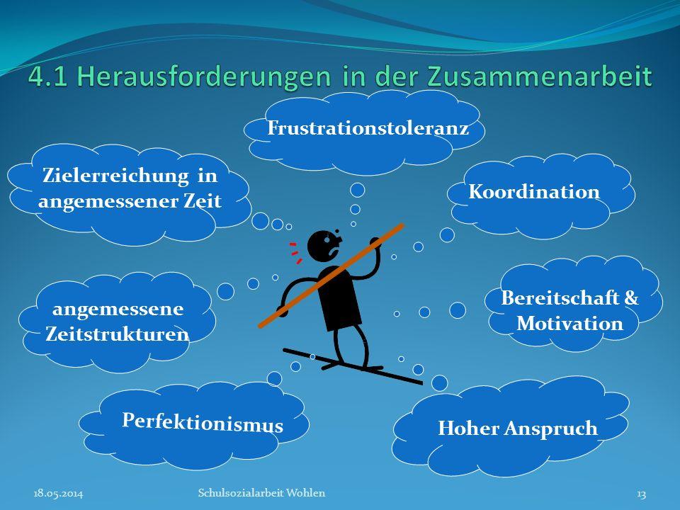 4.1 Herausforderungen in der Zusammenarbeit