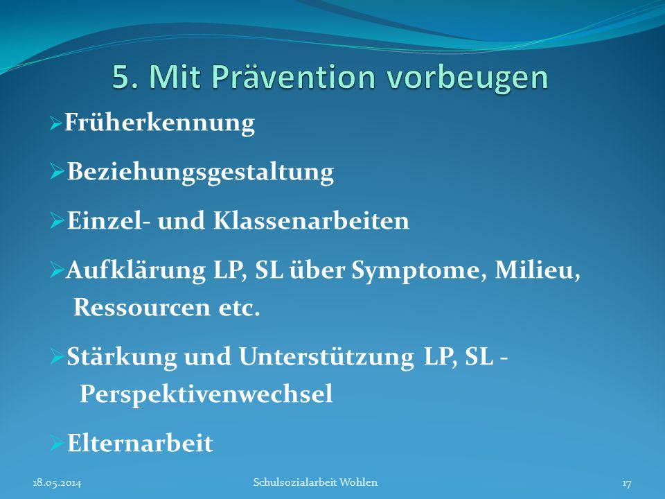 5. Mit Prävention vorbeugen