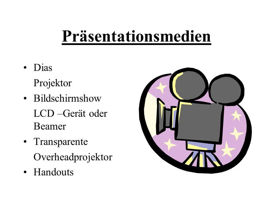 Präsentationsmedien Dias Projektor Bildschirmshow