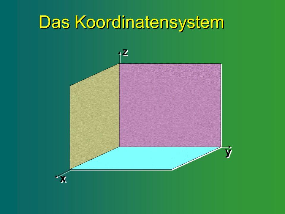 Das Koordinatensystem