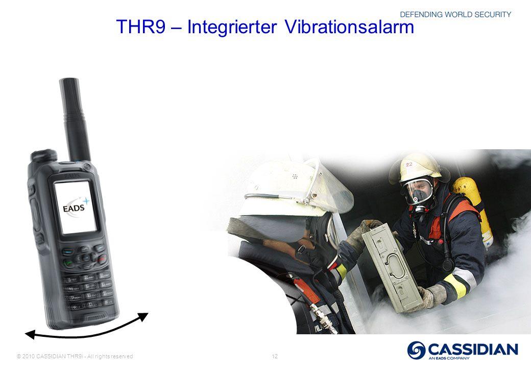 THR9 – Integrierter Vibrationsalarm
