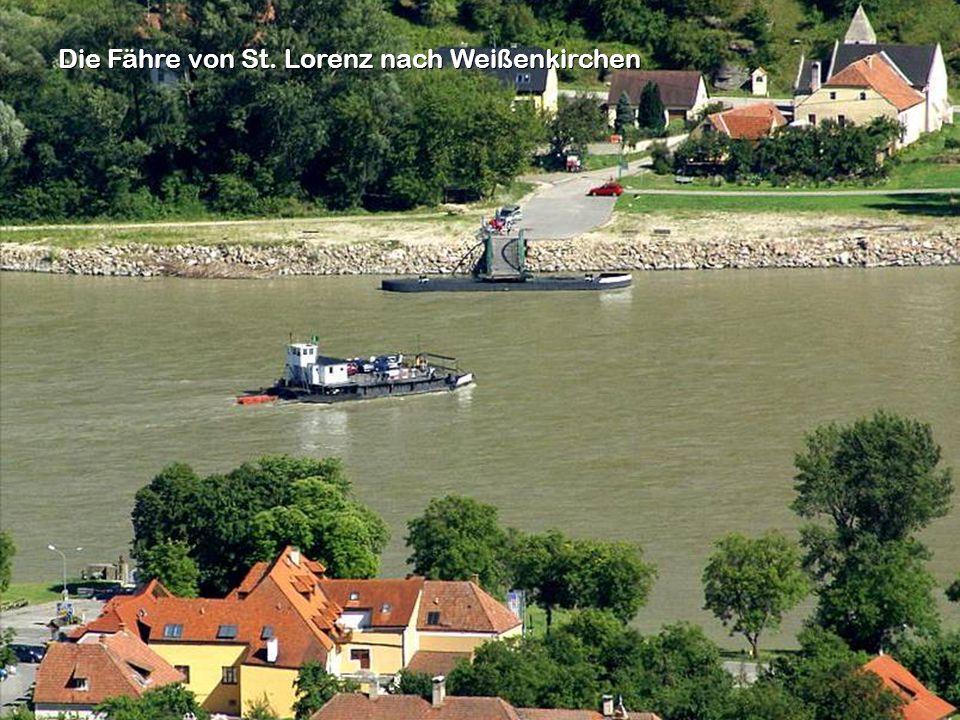 Die Fähre von St. Lorenz nach Weißenkirchen