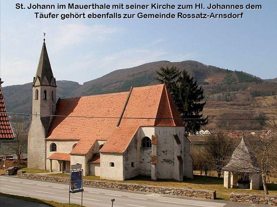 St. Johann im Mauerthale mit seiner Kirche zum Hl