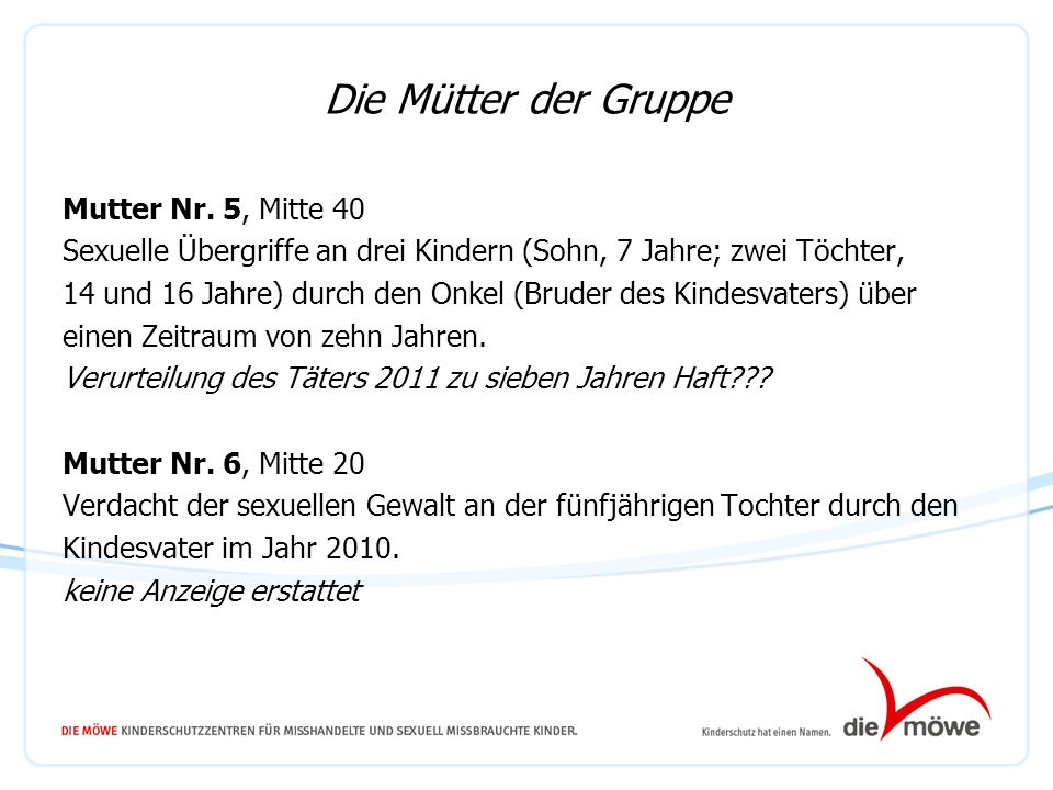09.10.13 Die Mütter der Gruppe.