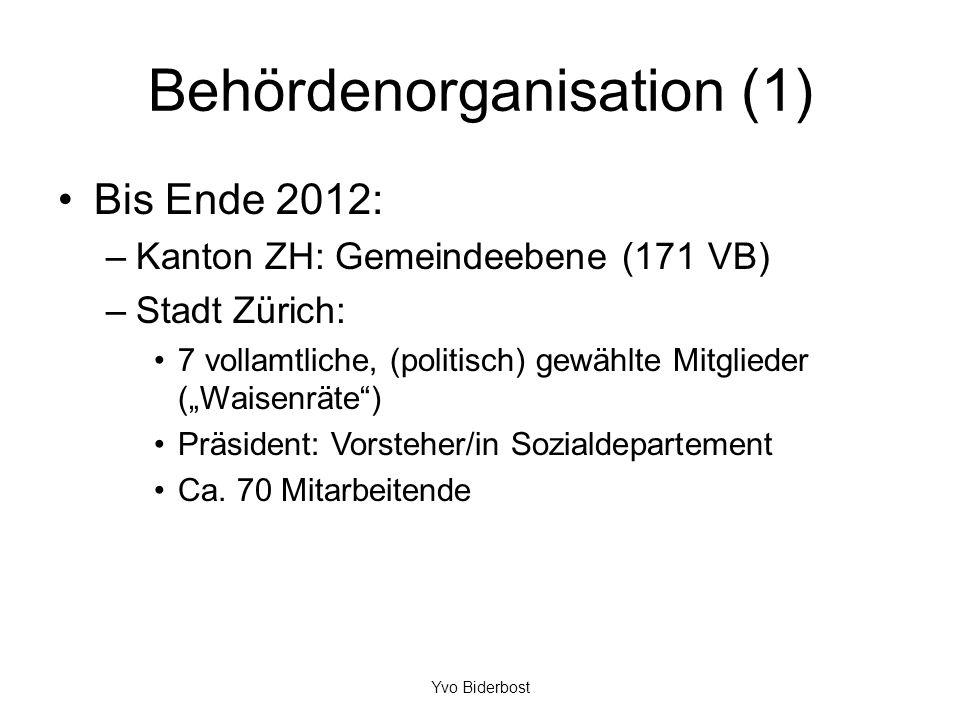 Behördenorganisation (1)