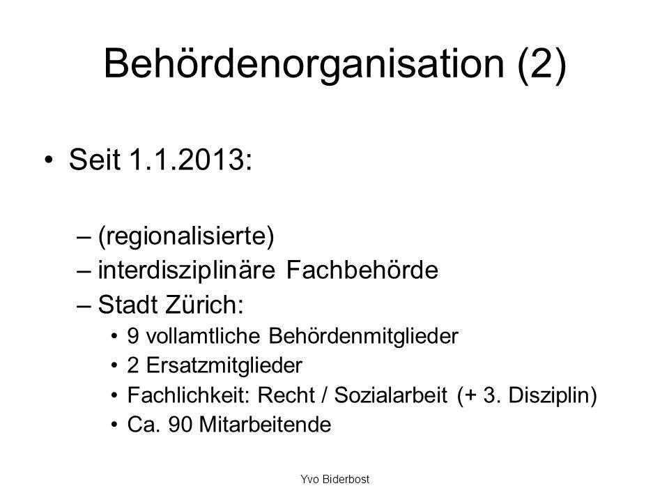 Behördenorganisation (2)