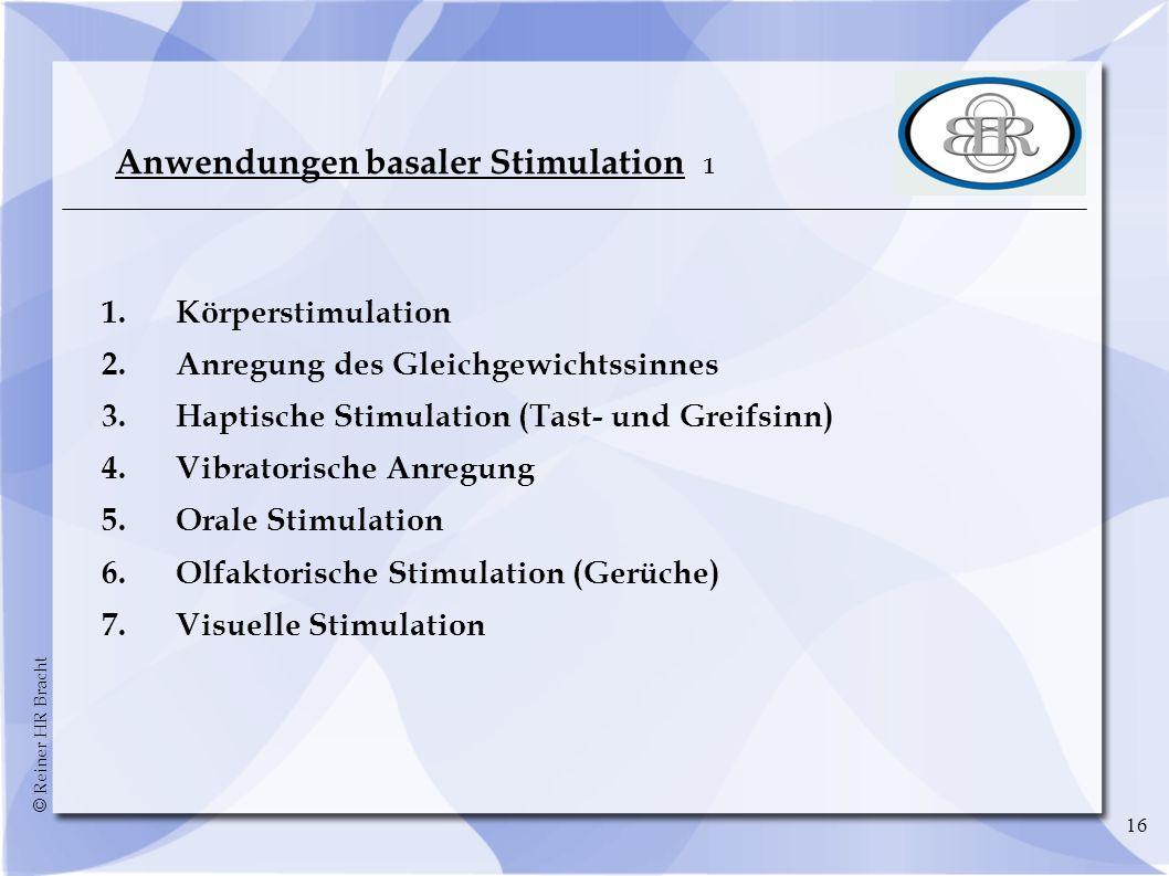 Anwendungen basaler Stimulation 1
