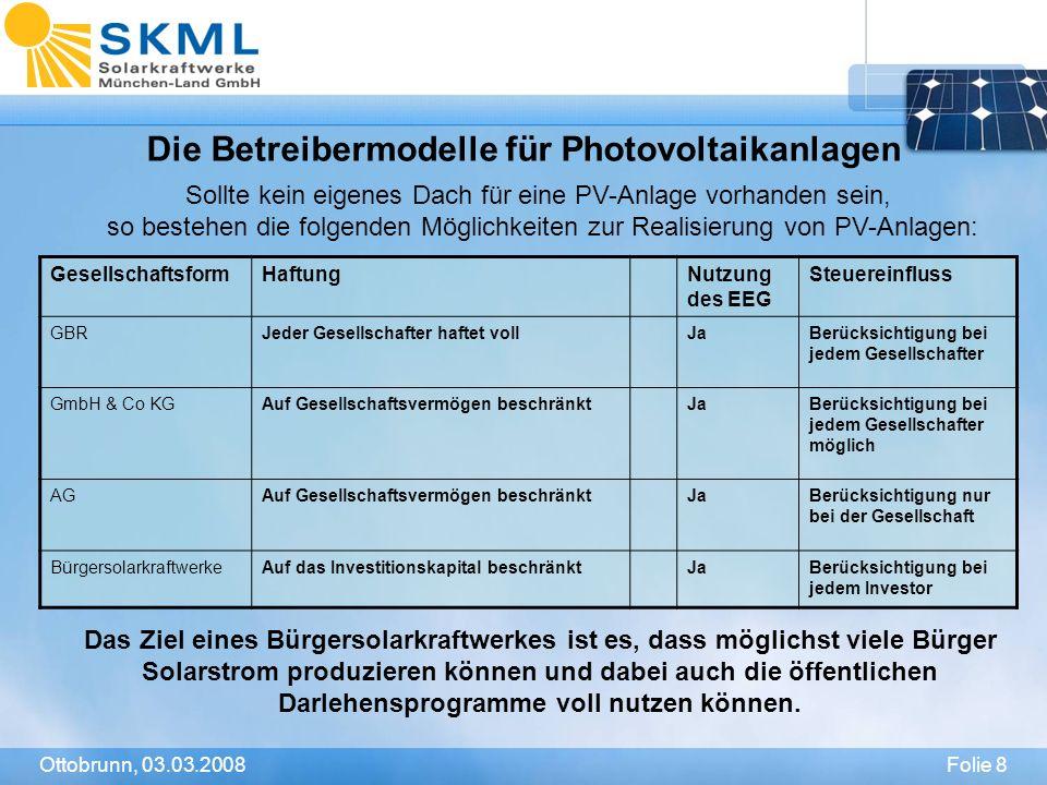 Die Betreibermodelle für Photovoltaikanlagen