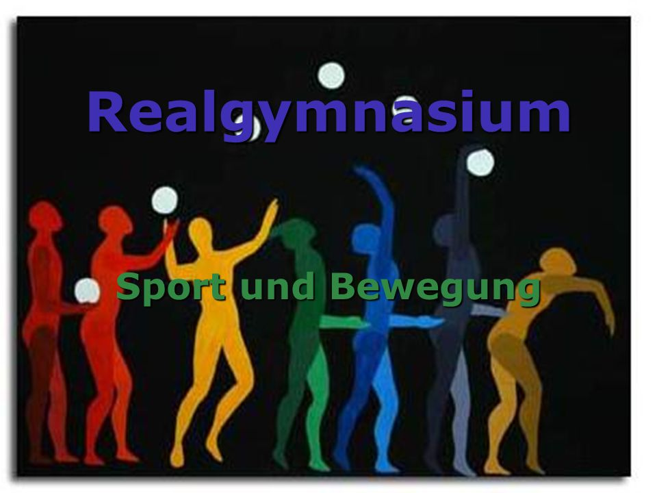 Realgymnasium Sport und Bewegung