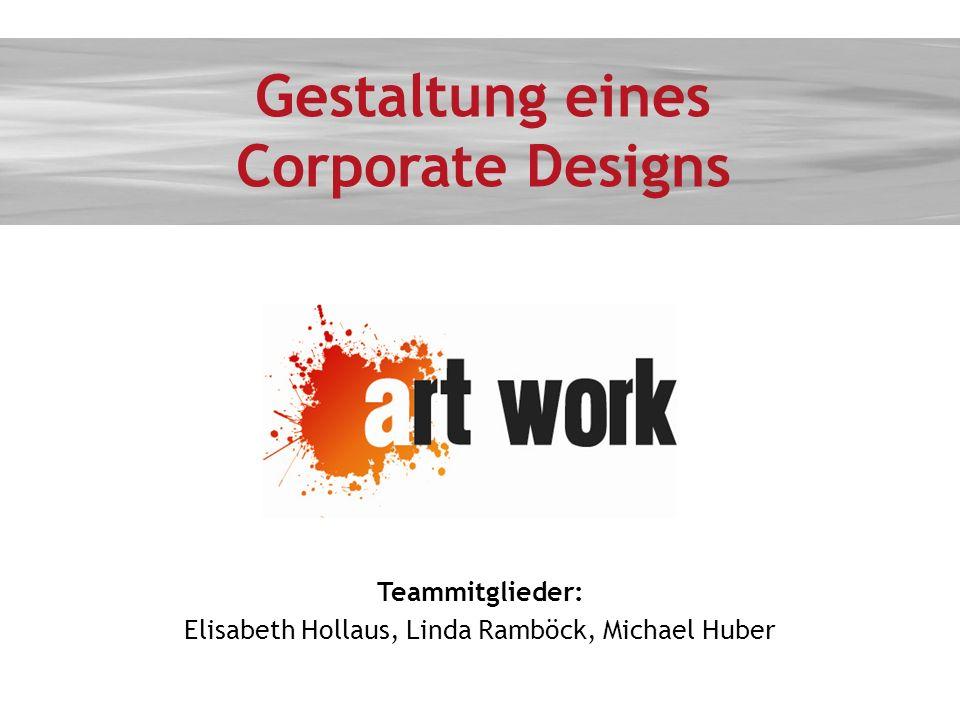 Gestaltung eines Corporate Designs