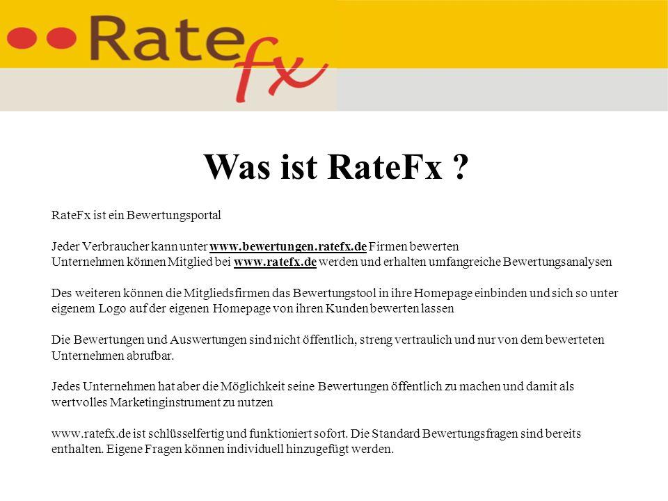 Was ist RateFx