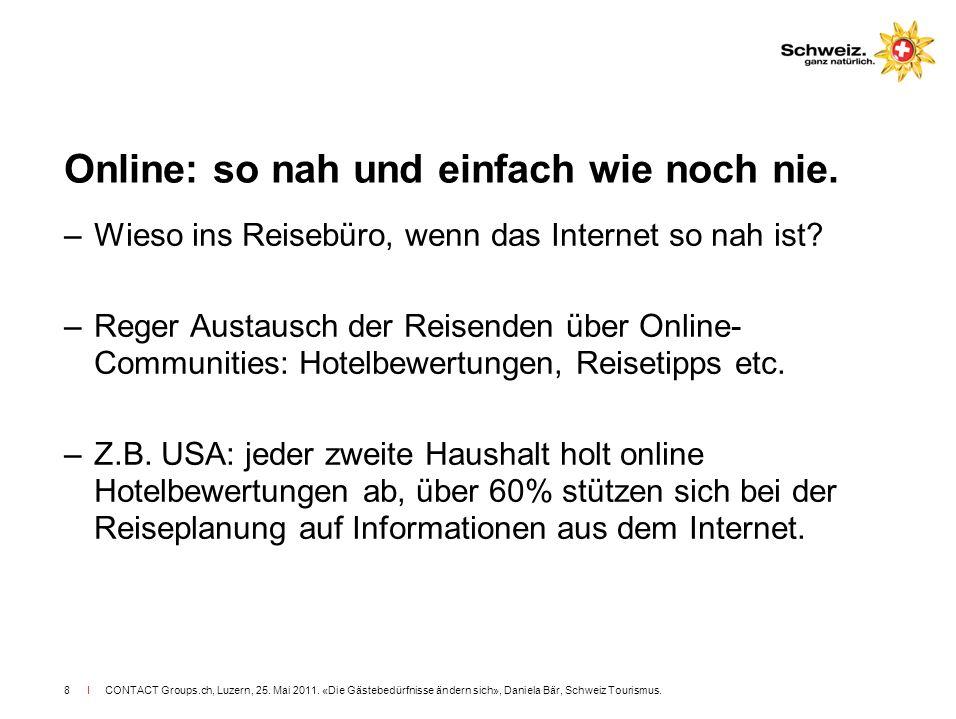 Online: so nah und einfach wie noch nie.