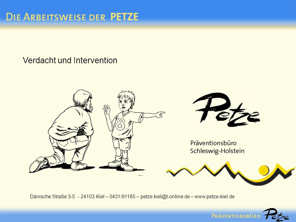 Verdacht und Intervention
