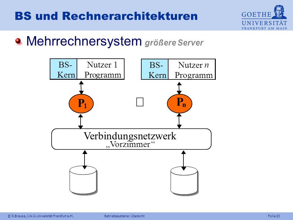 BS und Rechnerarchitekturen