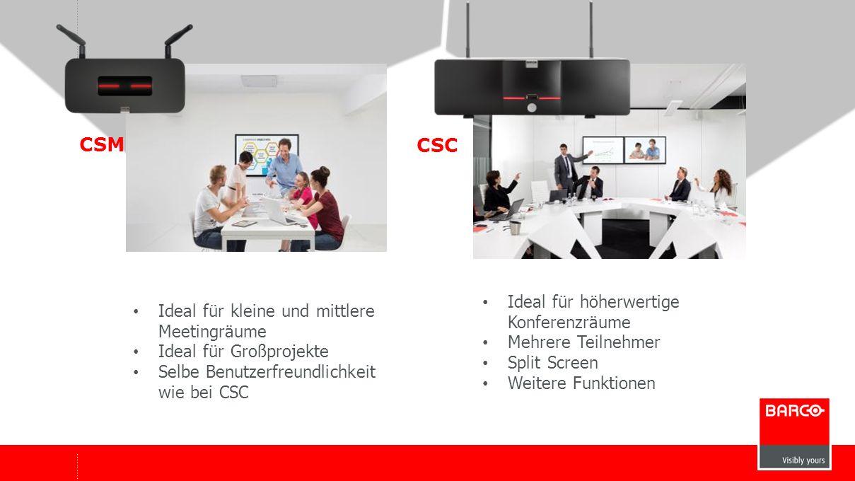 CSM CSC Ideal für höherwertige Konferenzräume