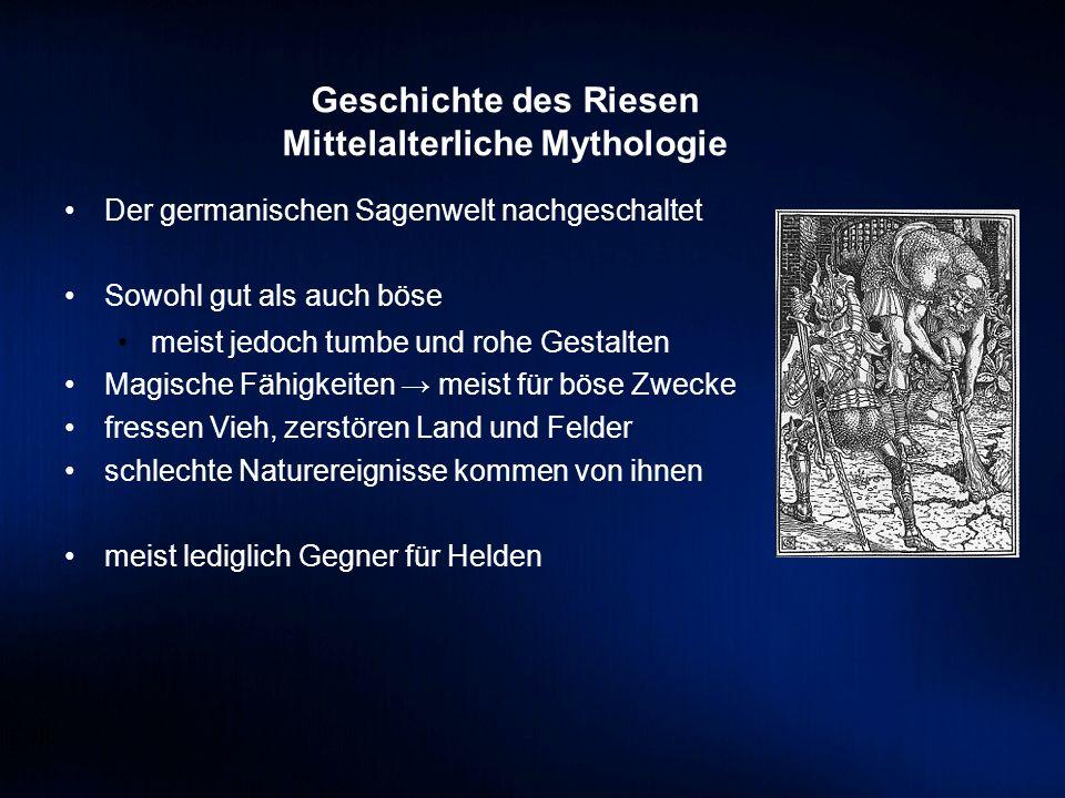 Mittelalterliche Mythologie