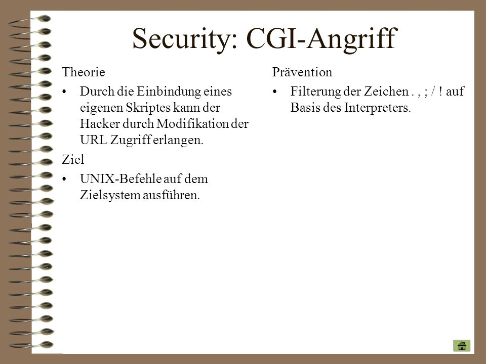 Security: CGI-Angriff