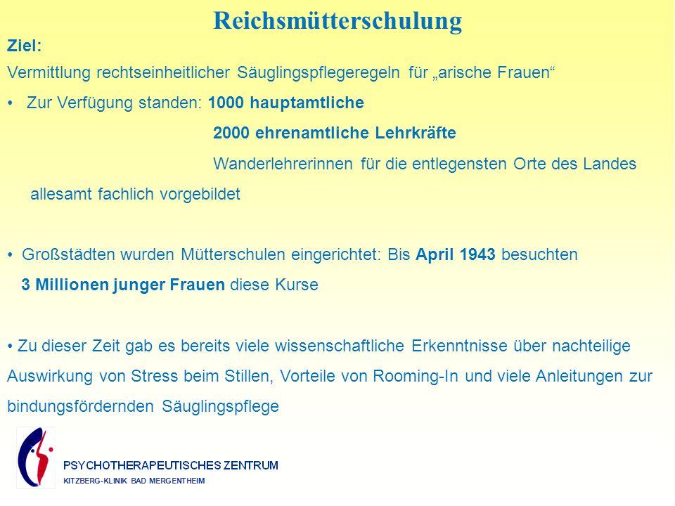 Reichsmütterschulung