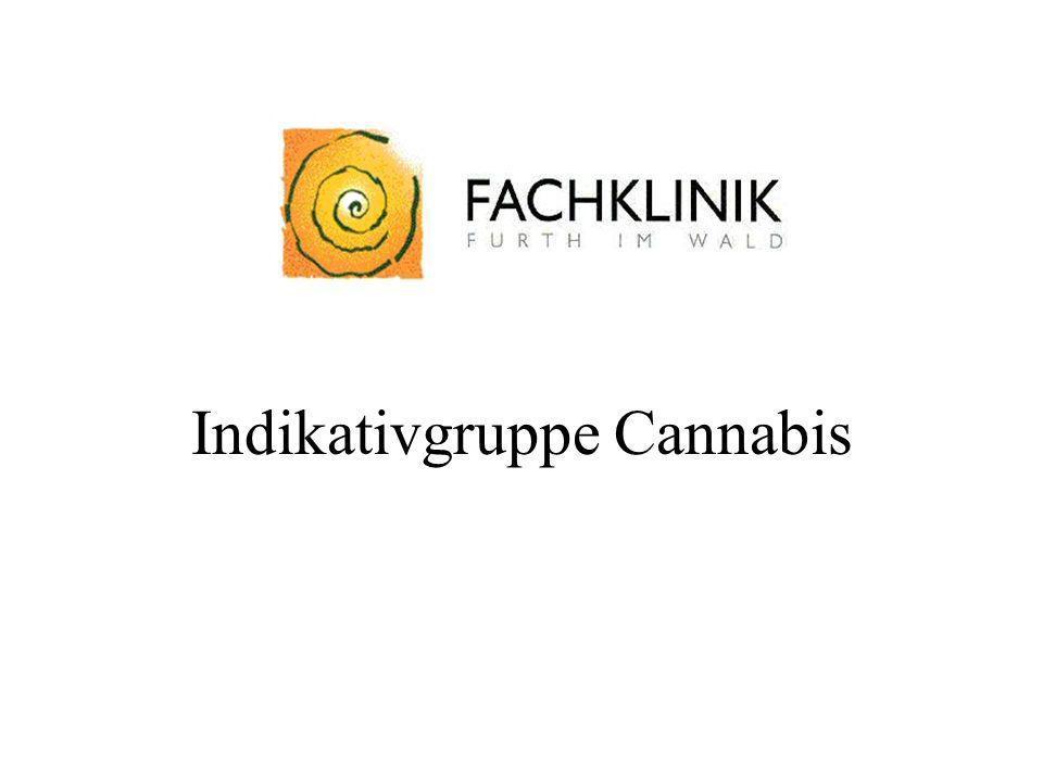 Indikativgruppe Cannabis