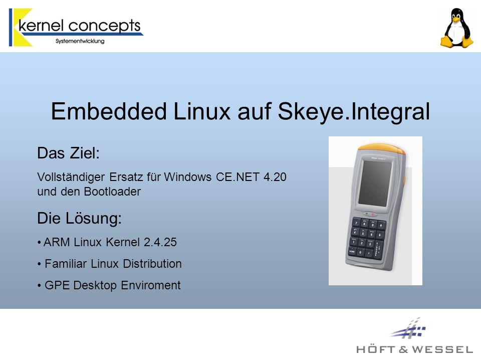 Embedded Linux auf Skeye.Integral