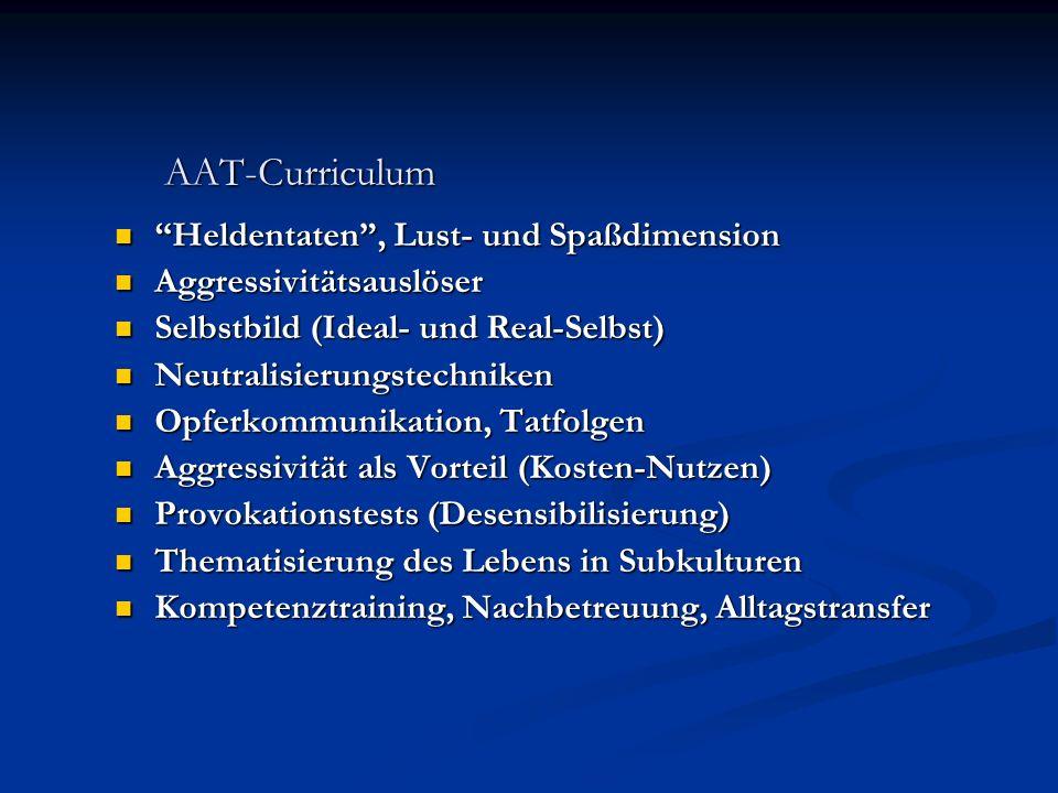 AAT-Curriculum Heldentaten , Lust- und Spaßdimension