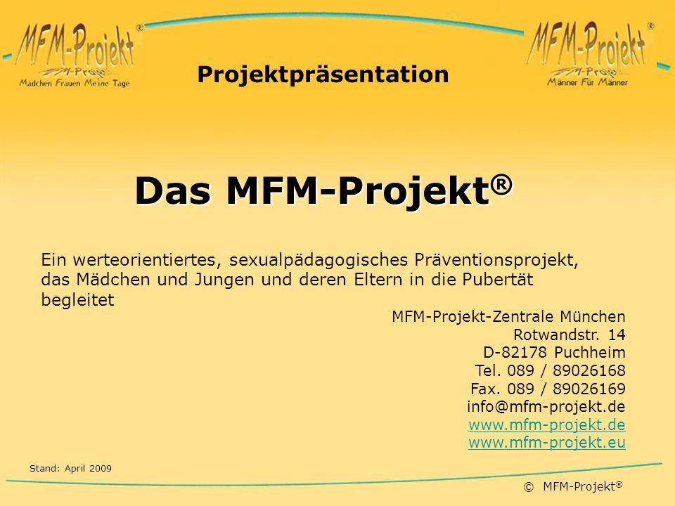 Das MFM-Projekt® Projektpräsentation