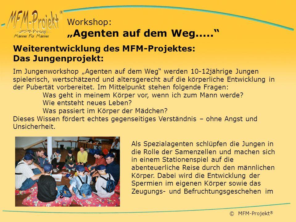 """""""Agenten auf dem Weg..... Workshop:"""