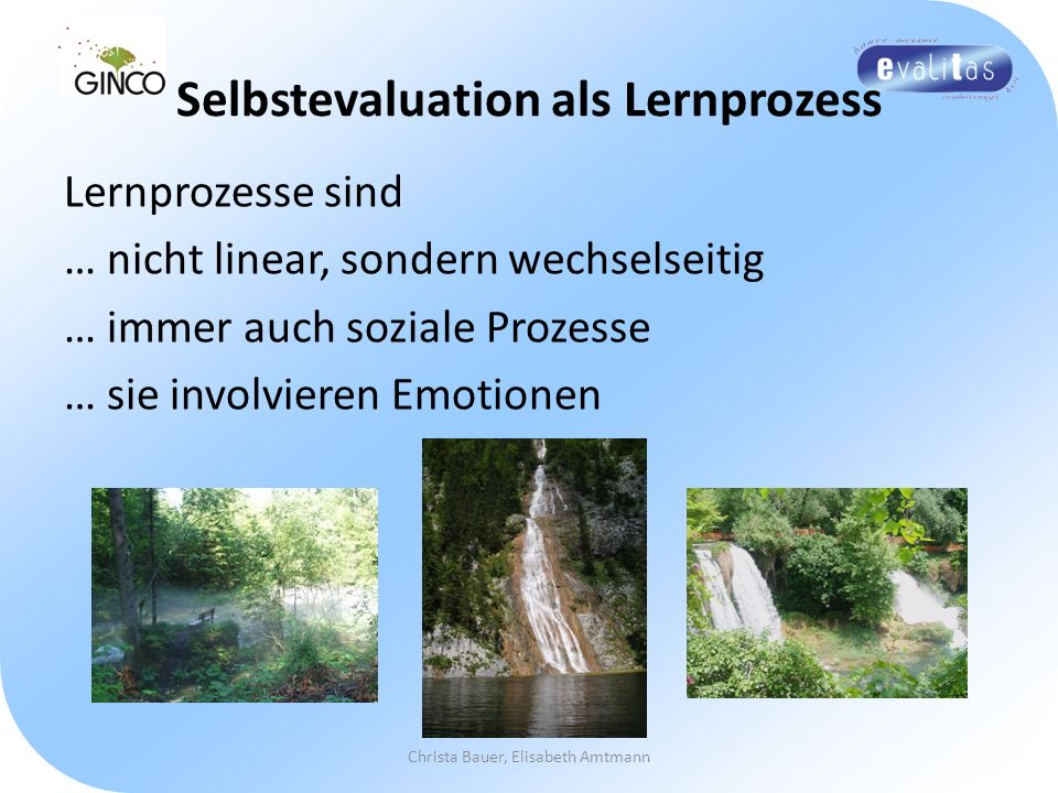 Selbstevaluation als Lernprozess