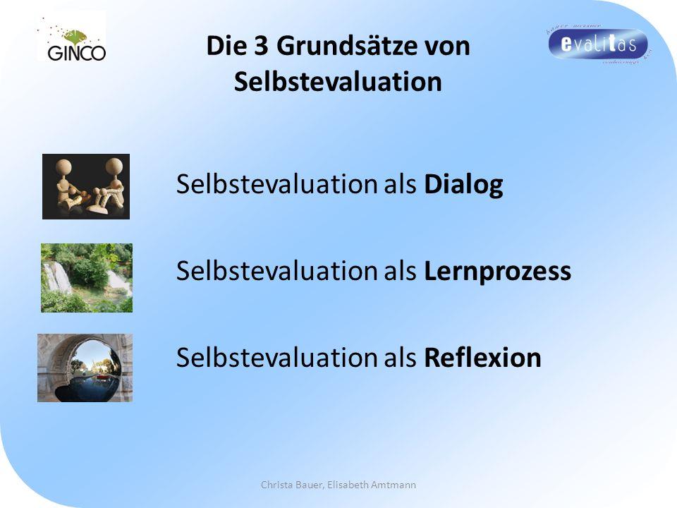 Die 3 Grundsätze von Selbstevaluation