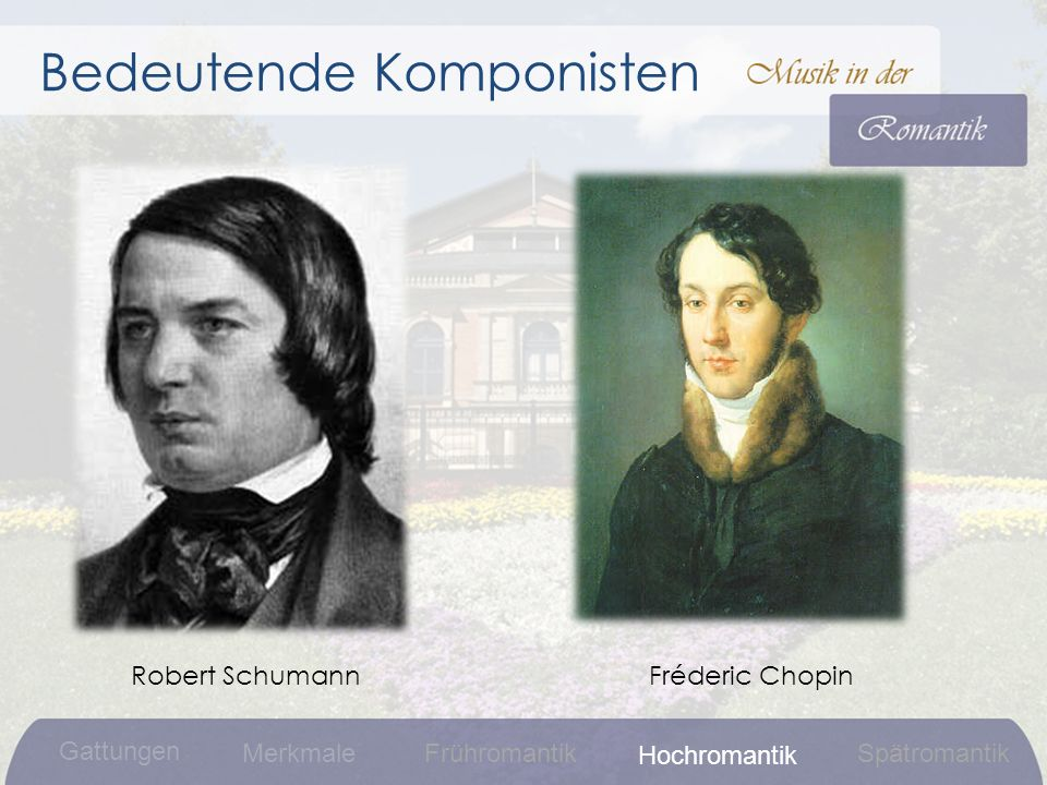 Bedeutende Komponisten