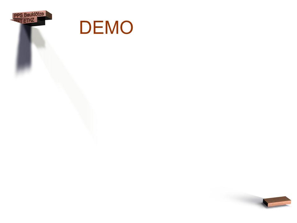 DEMO (Noch keine Details zur Implementation)