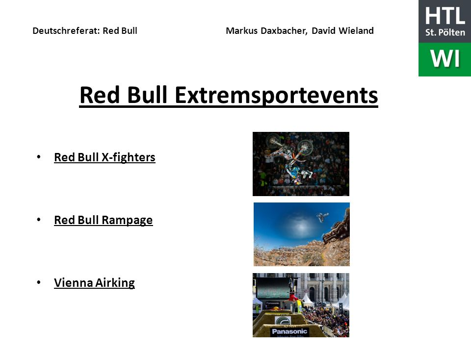 Red Bull Extremsportevents