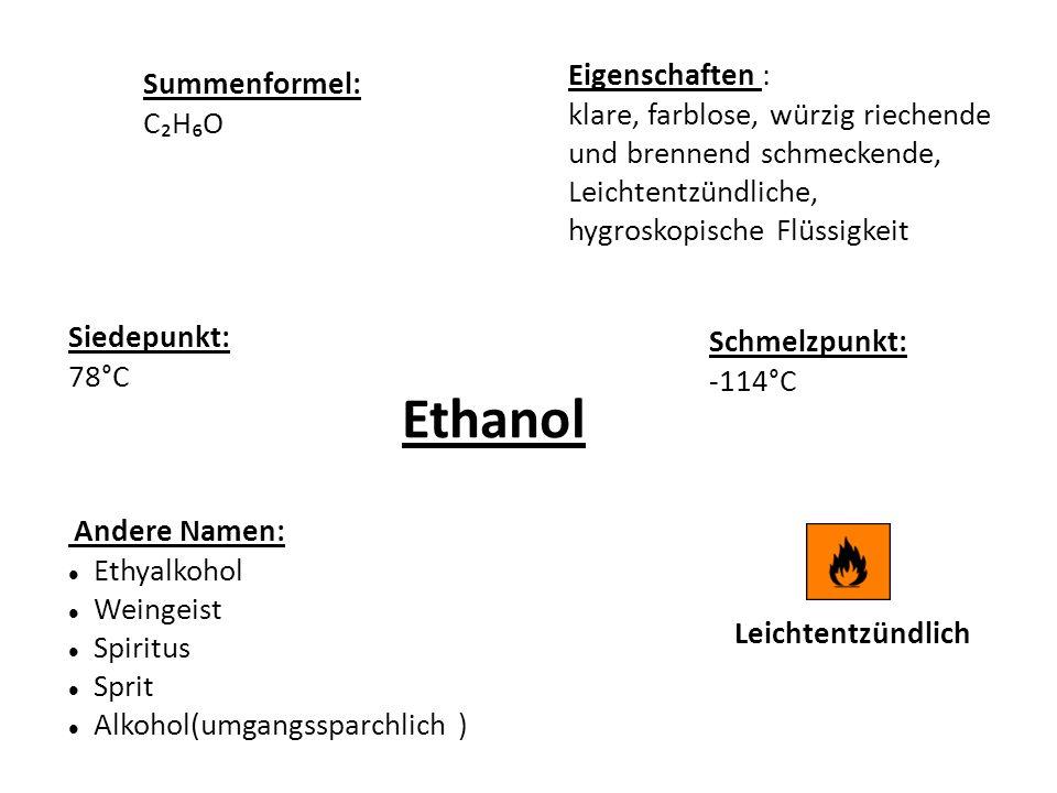 ethanol eigenschaften summenformel ppt herunterladen. Black Bedroom Furniture Sets. Home Design Ideas