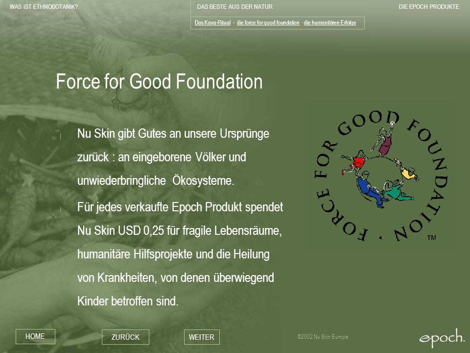 Force for Good Foundation