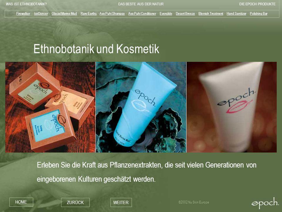 Ethnobotanik und Kosmetik
