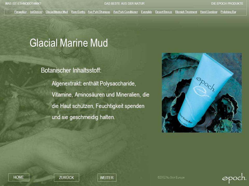 Glacial Marine Mud Botanischer Inhaltsstoff: