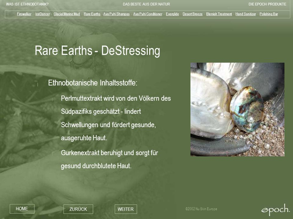 Rare Earths - DeStressing